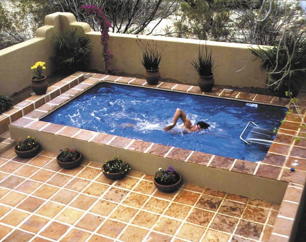 Как самому сделать домашний бассейн