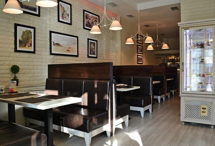 Дизайн кухонь в кофейне