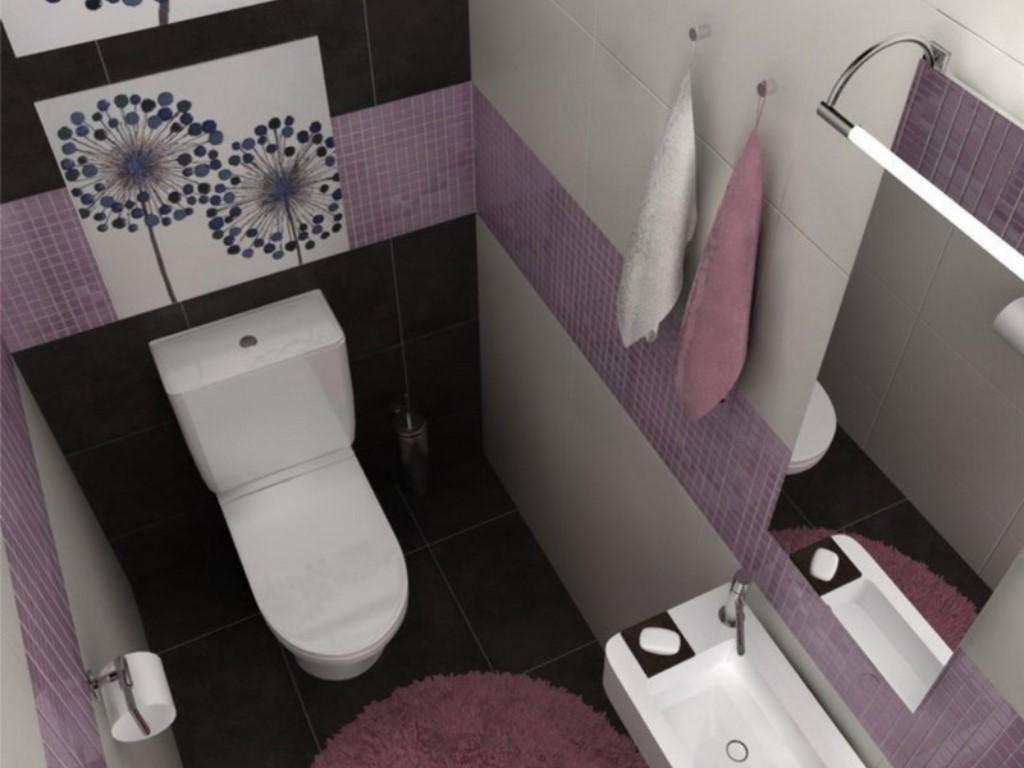 Дизайн раздельного санузла в квартире