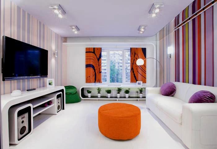 Интерьеры комнаты 18 кв м фото