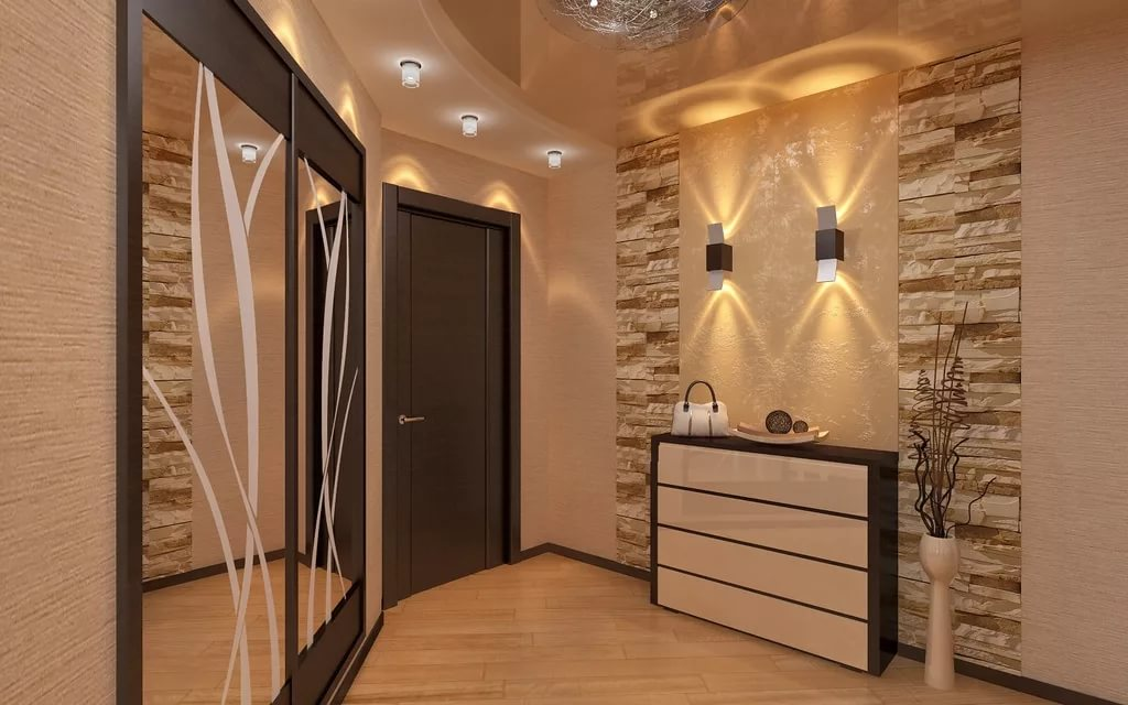 Фото интерьер коридора в квартире