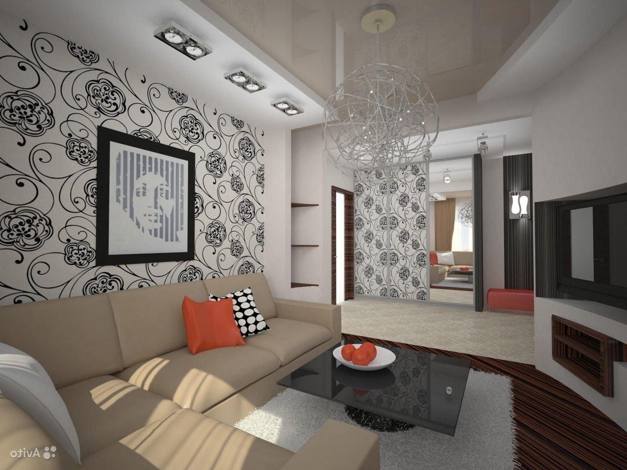 Дизайн маленькой квадратной гостиной фото 2015 современные идеи