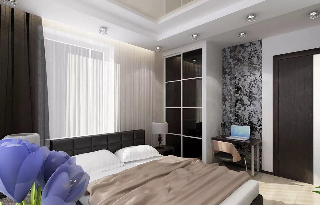Фото дизайна и интерьера гостевой комнаты