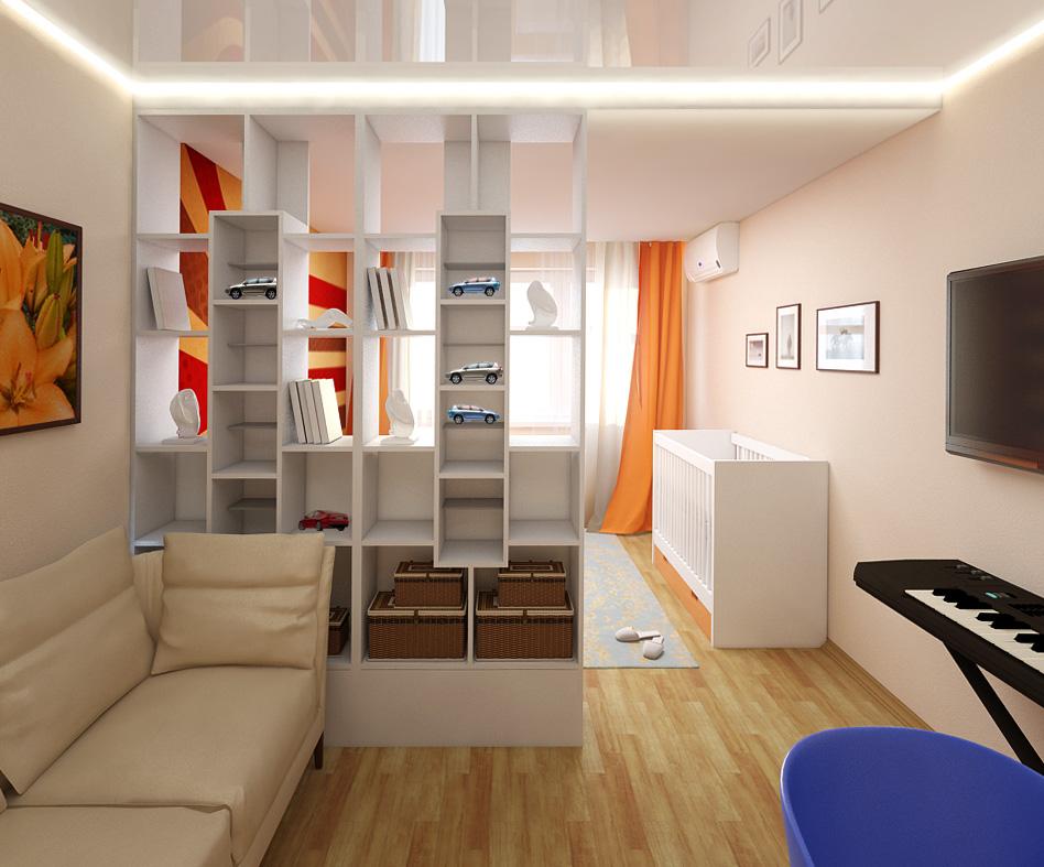 Фото дизайна комнат зал спальня