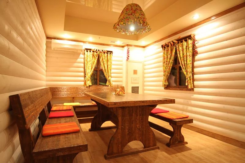 Дизайн интерьера бани с комнатой отдыха фото