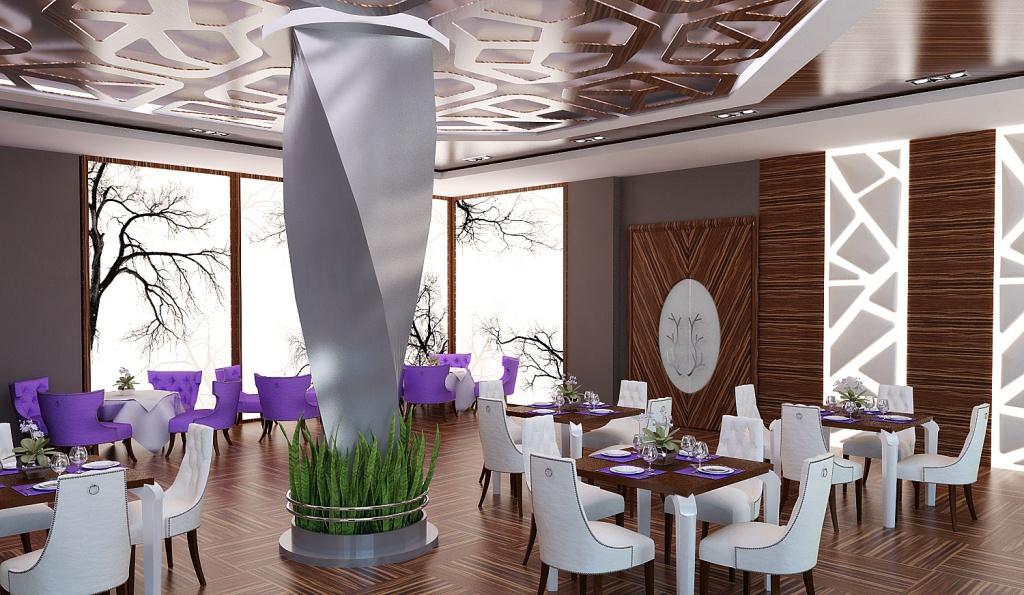 Дизайн кафе и ресторанов с