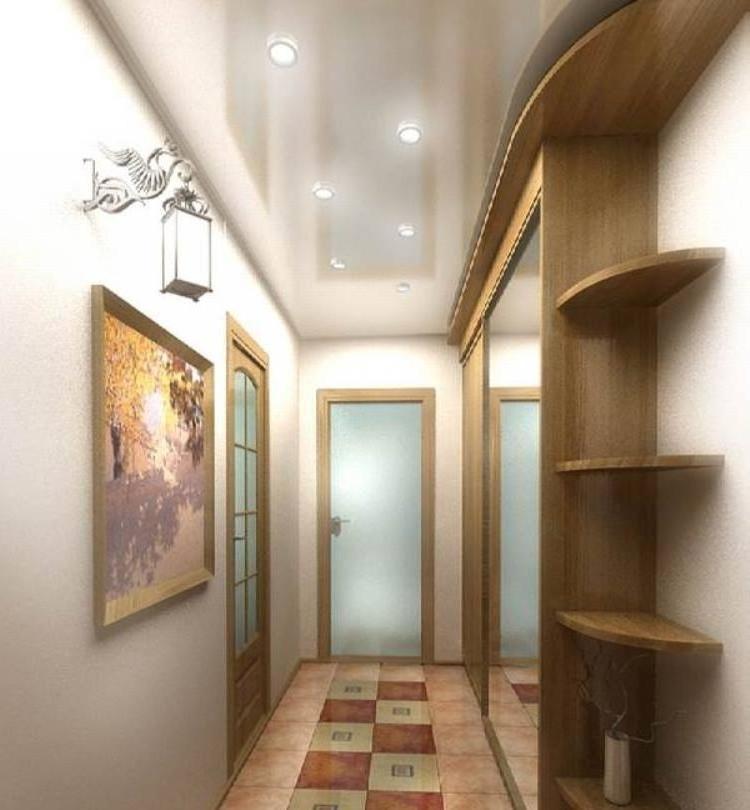 Дизайн коридоров узких