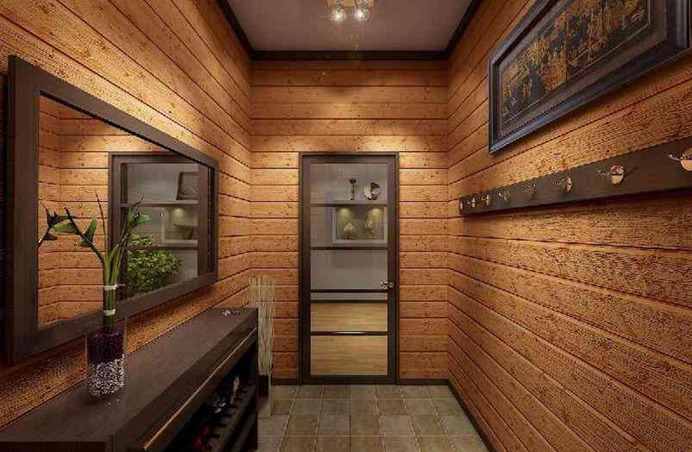 Дизайн прихожей в частном доме своими