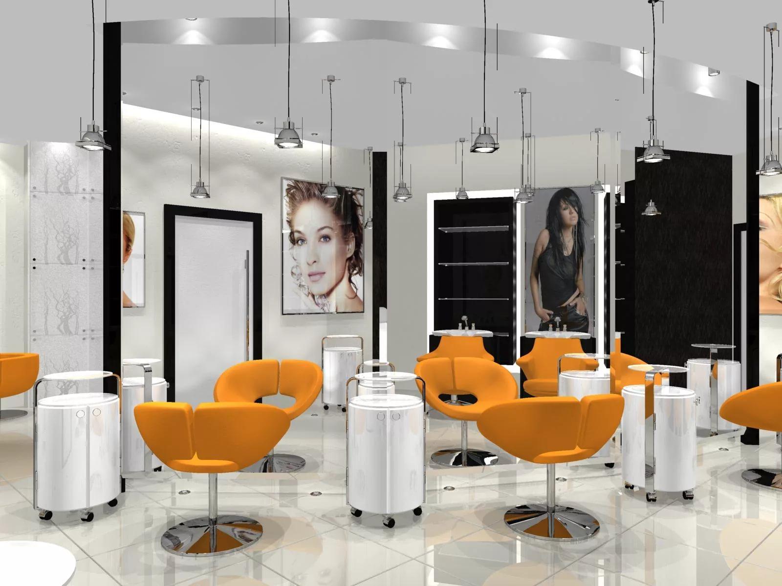 Интерьеры салонов красоты-фото