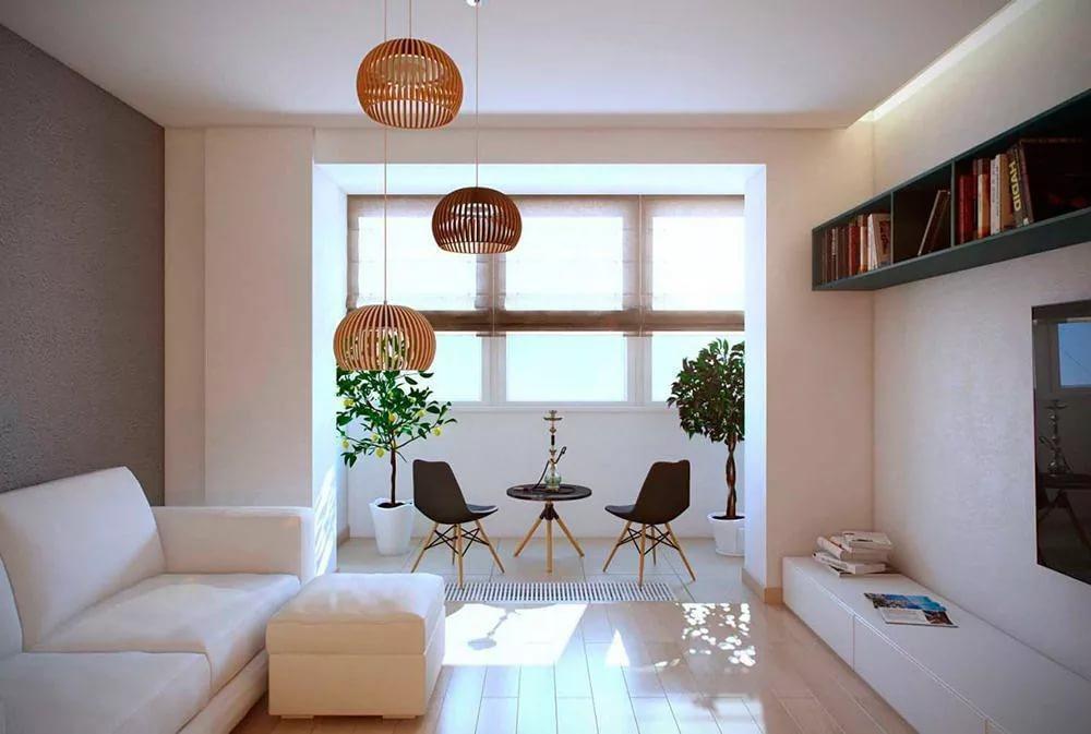 Дизайн интерьера двухкомнатной квартиры: перепланировка, объ.