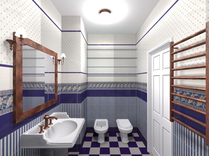 Биде в интерьере совмещенной ванной
