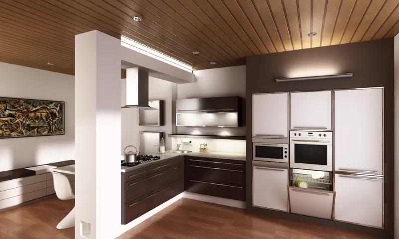 Бытовая техника в дизайне кухни