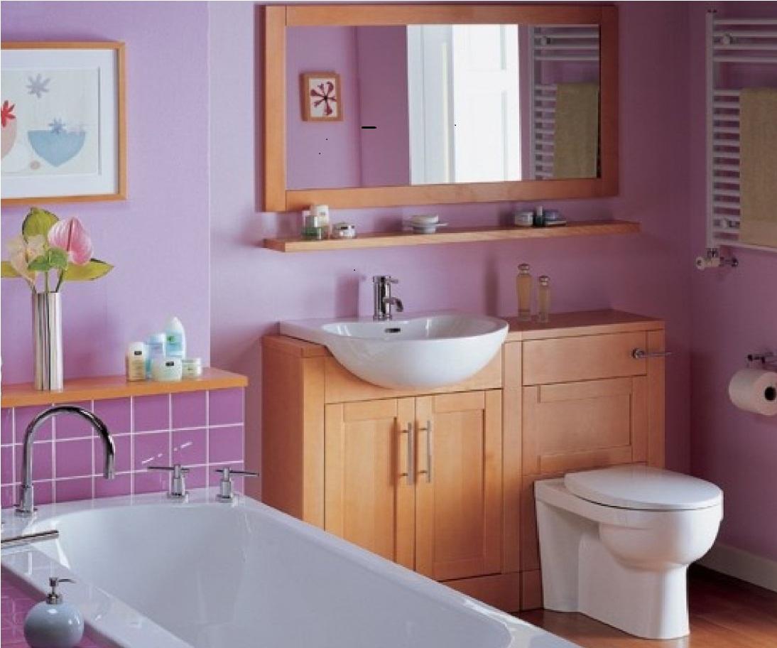 Бюджетный вариант отделки ванной