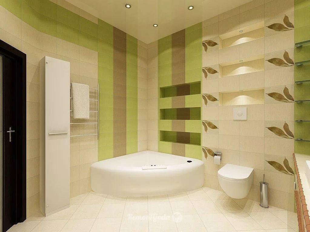 Ванная комната отделанная пластиком