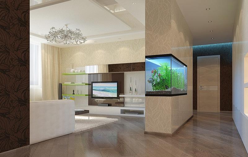 Вариант перепланировки квартиры в новостройке