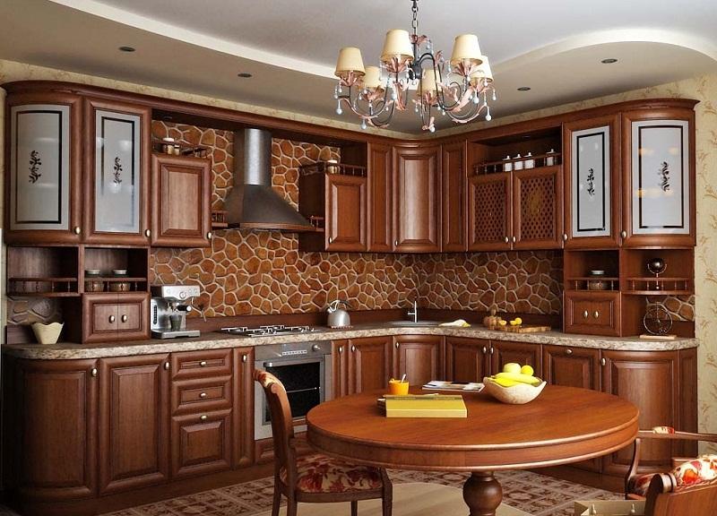 Варинат размещения кухонной мебели