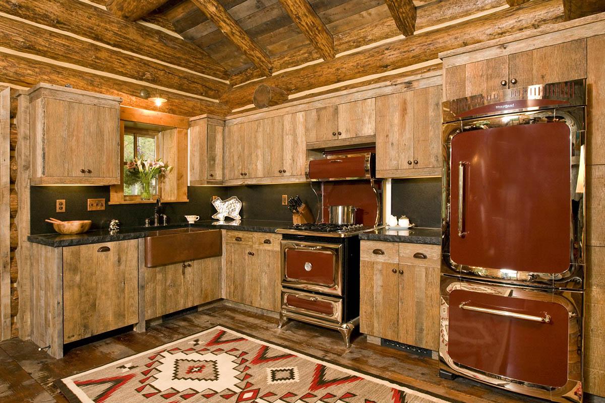 Встраиваемая мебель в дачном доме