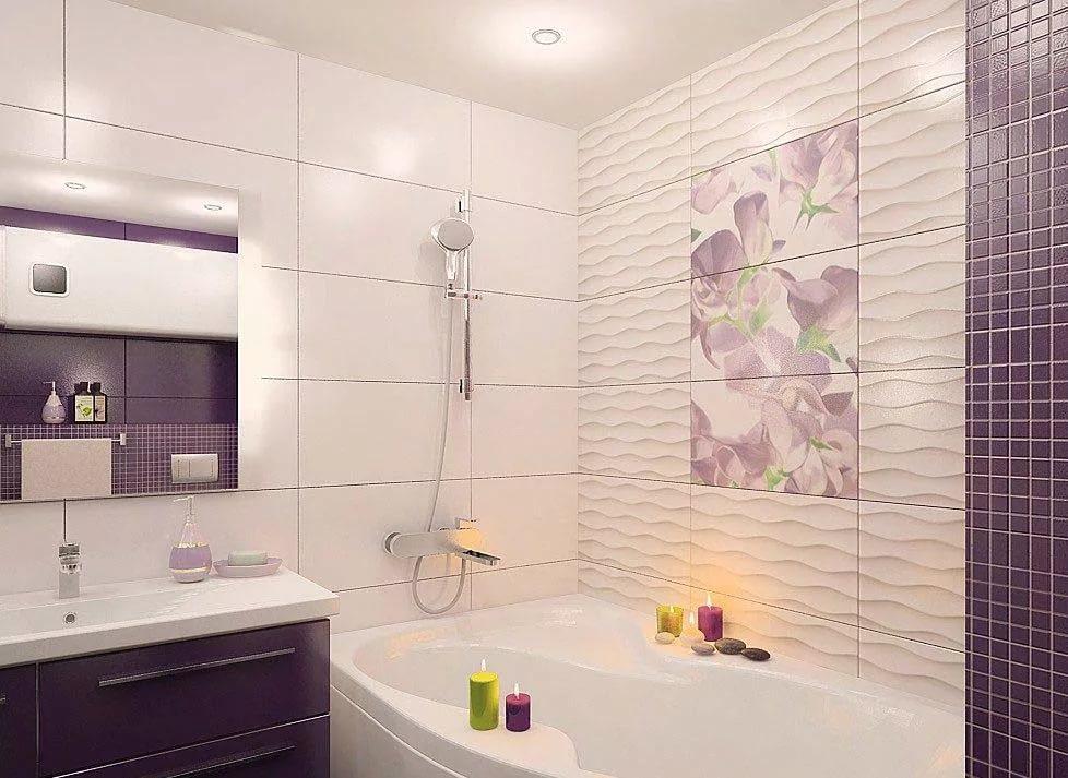Декорирование ванной комнаты 4кв.м