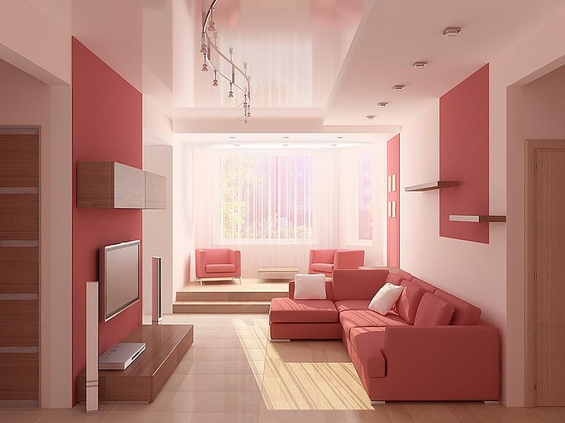 Декорирование гостинной 15 кв.м полочками