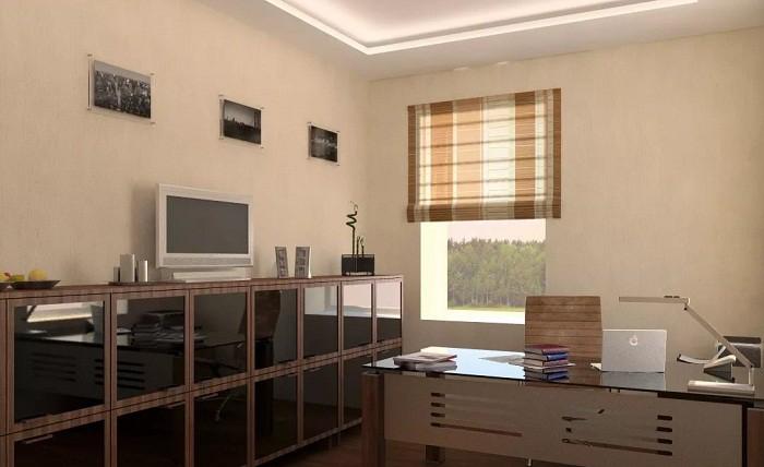 Декорирование кабинета в современном стиле