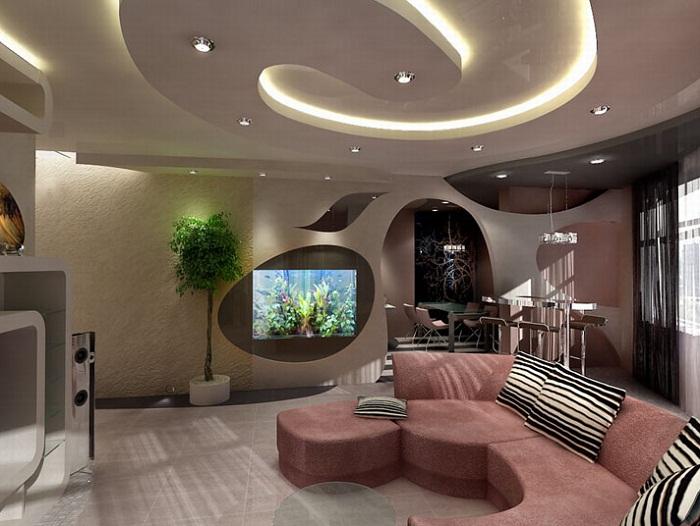 Декорирование квартиры в новостройке
