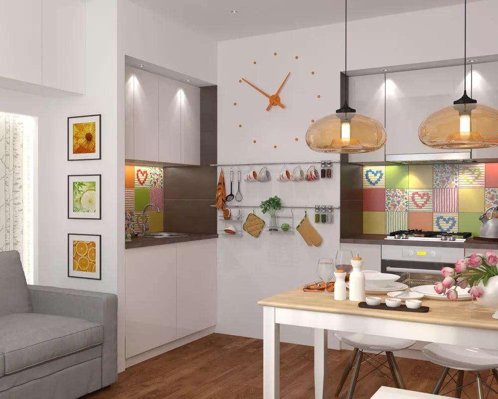 Декорирование на кухне 12 кв.м.