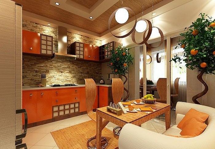 Декор и аксессуары на кухне 12 кв.м.