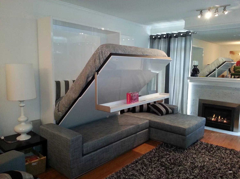 Диван-кровать в совмещенной гостиной
