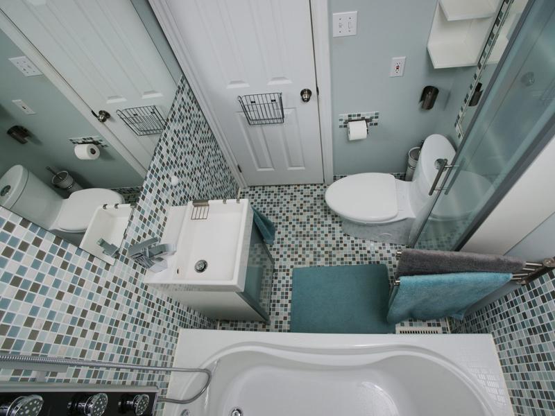 Дизайн ванной с совмещенным санузлом