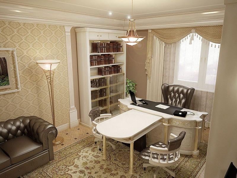 Дизайн домашнего рабочего кабинета