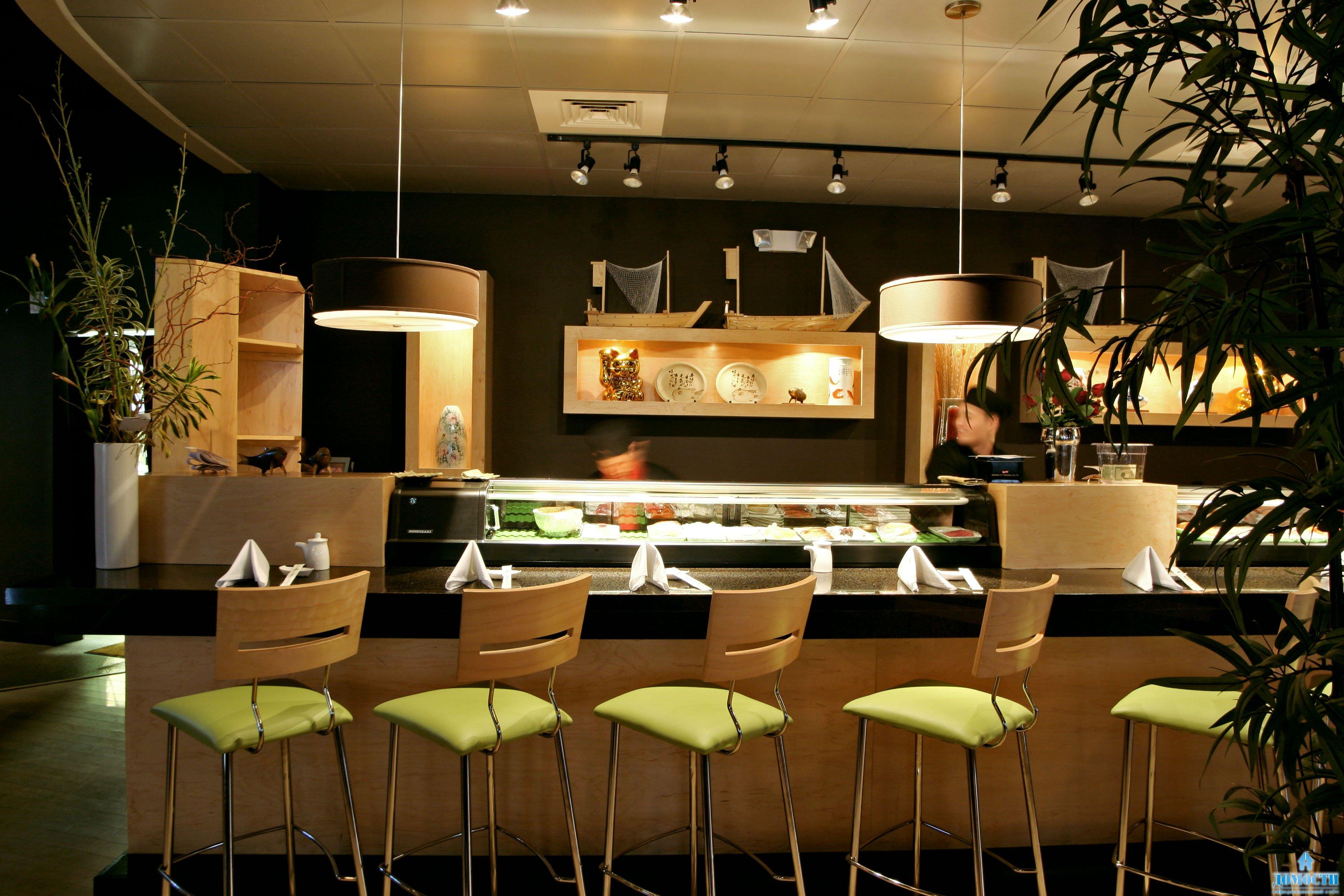 Дизайн интерьера бара-ресторана