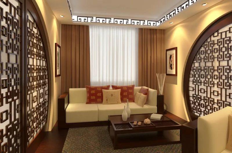 Дизайн интерьера в гостинной в хрущевке