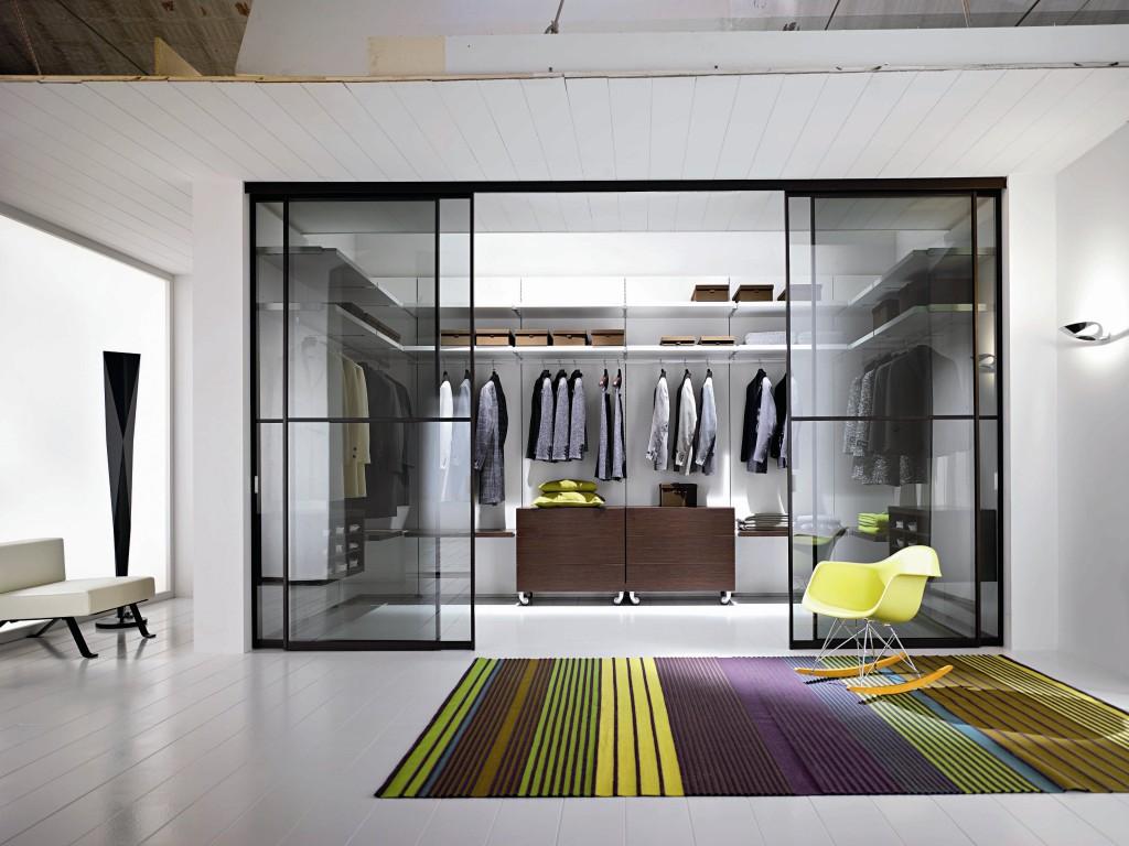 Дизайн интерьера гардеробной в частной доме