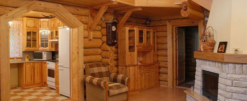 Дизайн интерьера дачного дома с минимальными затратами