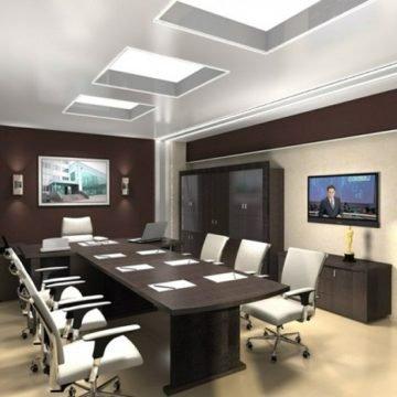 Дизайн интерьера кабинета руководителя