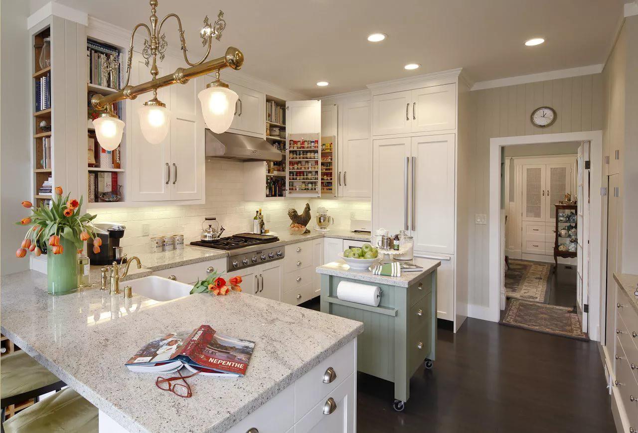 Дизайн интерьера кухни 12 кв.м.