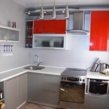 Дизайн интерьера кухни 6 квадратных метров