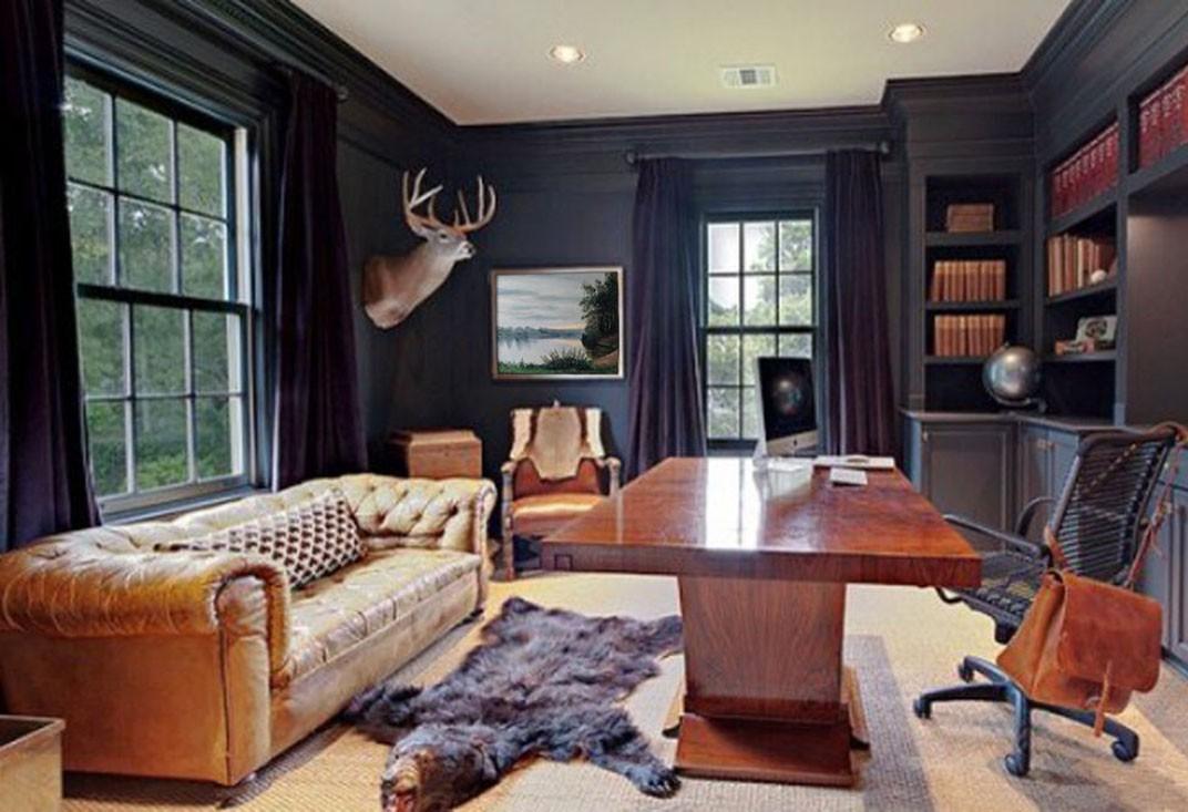 Дизайн интерьера рабочего кабинета в квартире