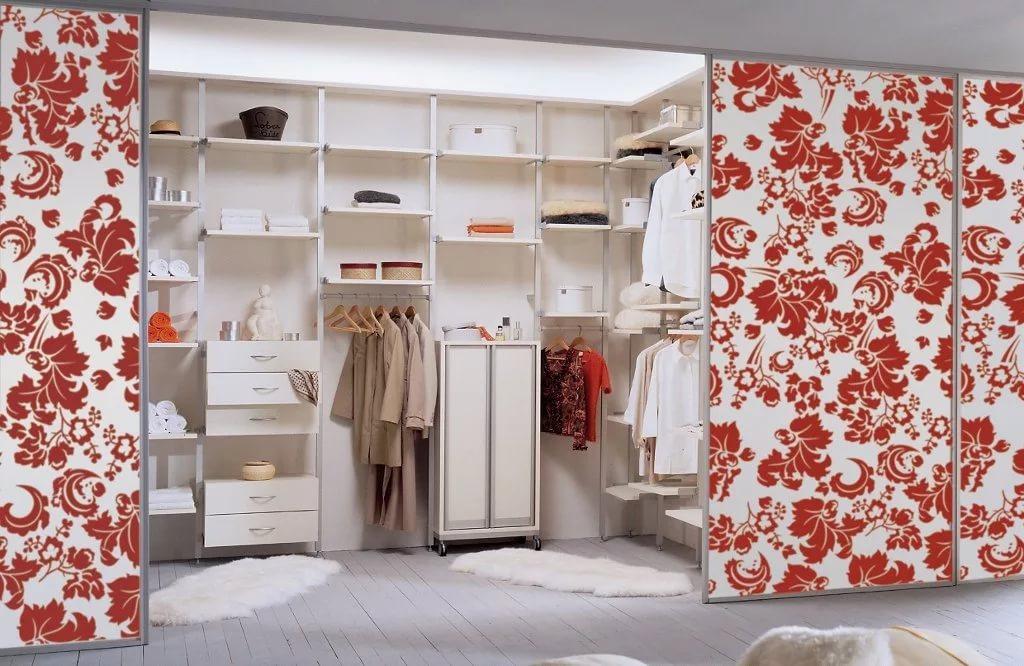 Дизайн интерьра гарберобной комнаты