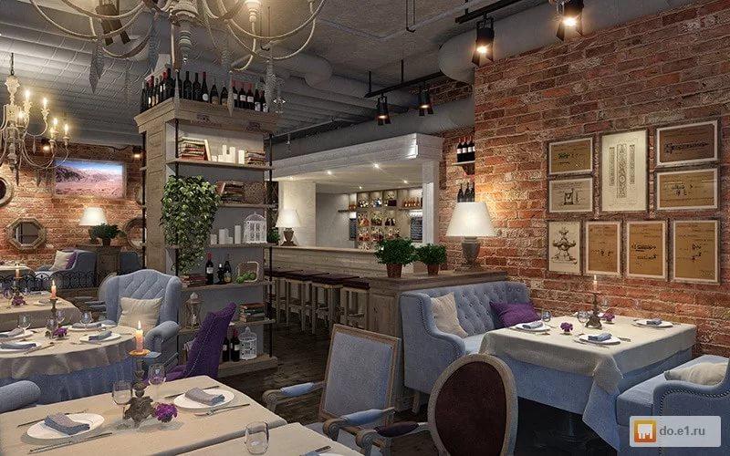 Дизайн кафе-бара для семейного отдыха