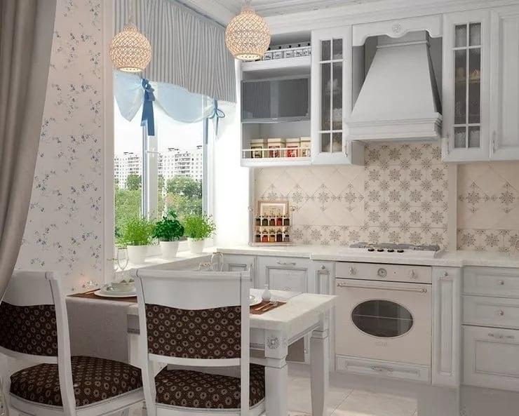 Дизайн кухни в двухкомнатной квартире сталинкой постройки
