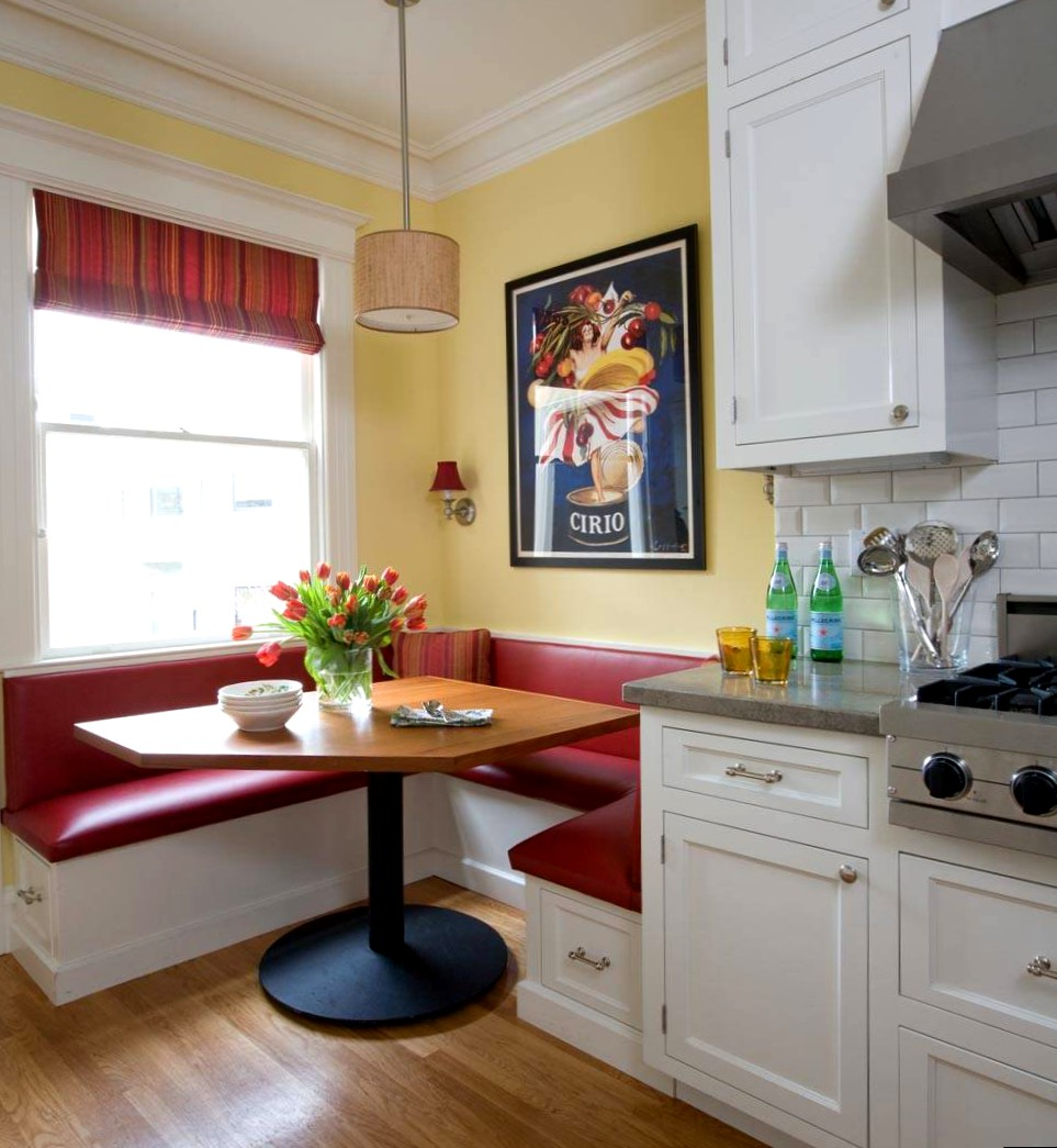 Дизайн кухни 6 кв.м с обеденной зоной