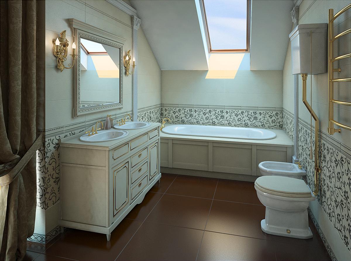 Дизайн мебели в совмещенном санузле