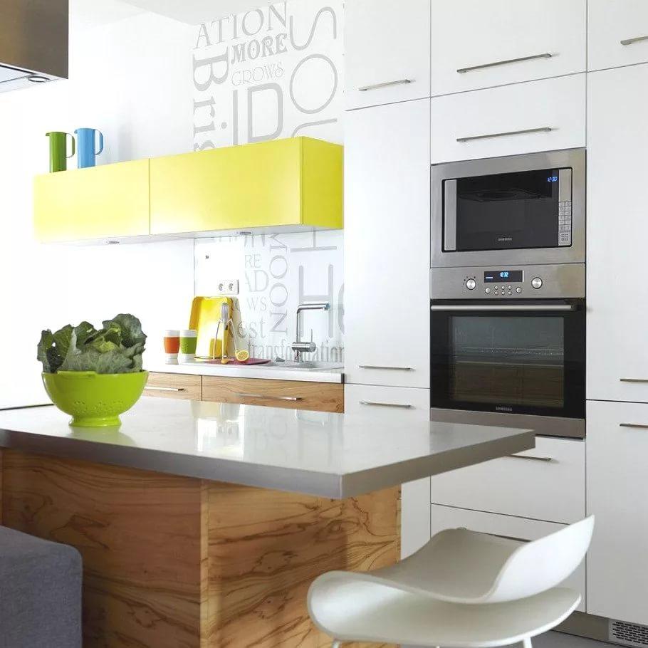 Дизайн мебели для кухни в двухкомнатной квартире
