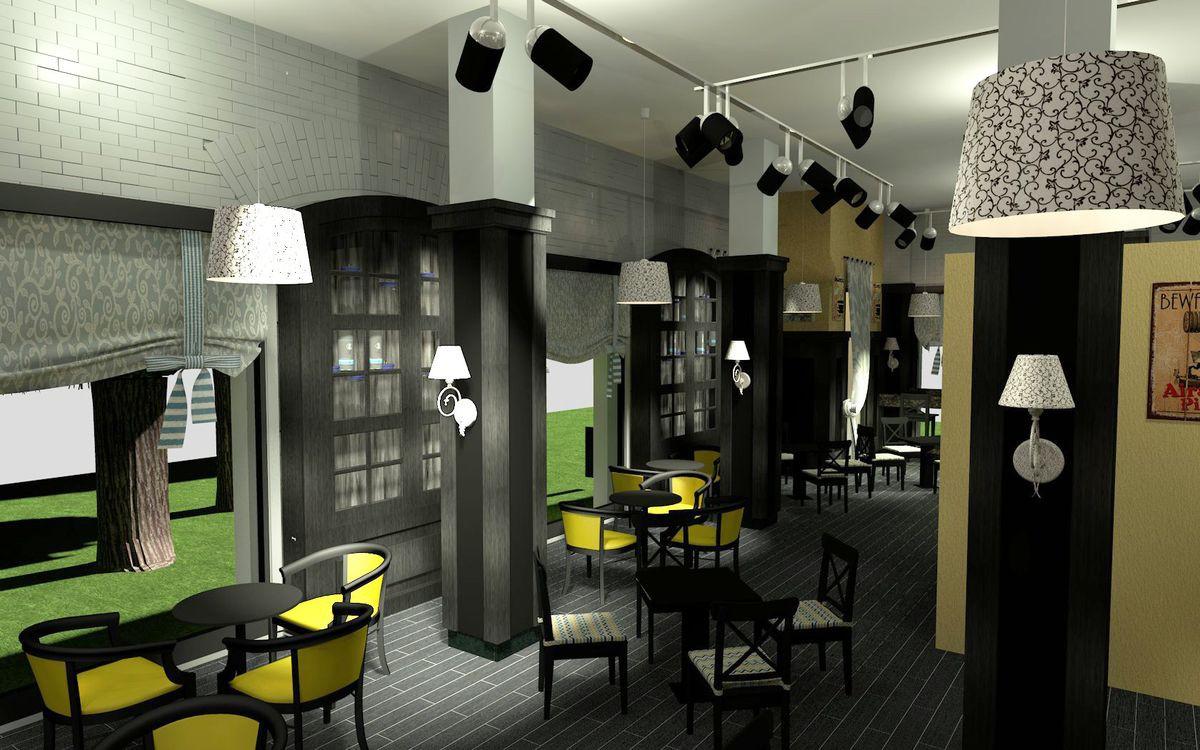 Дизайн молодежной кофейни