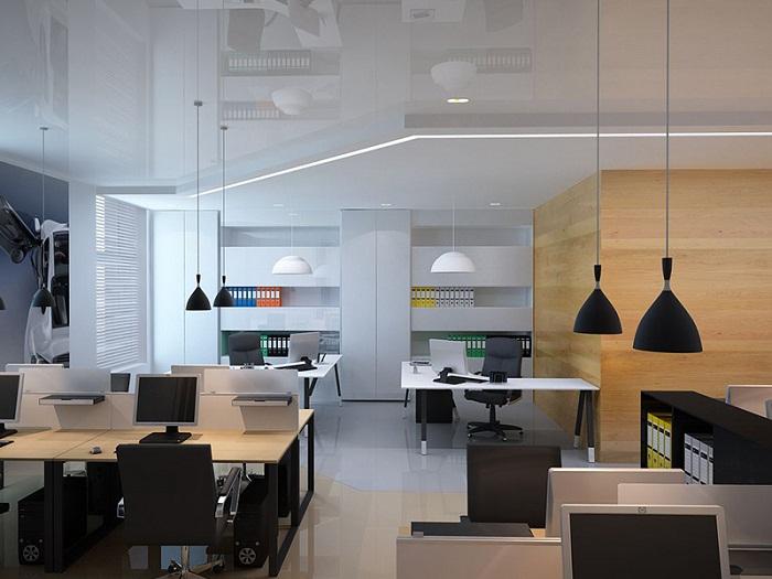 Дизайн офиса открытого типа