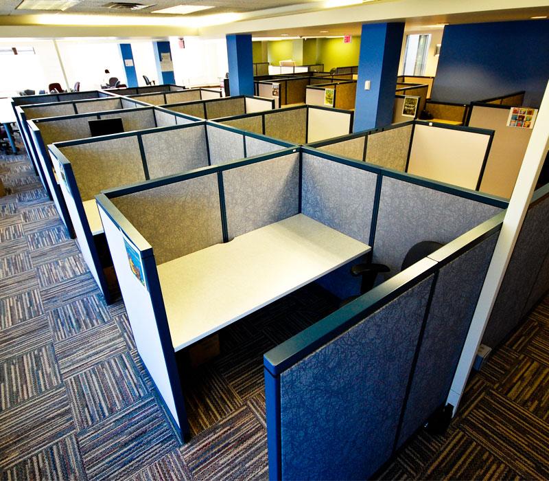 Дизайн офиса смешанной планировки