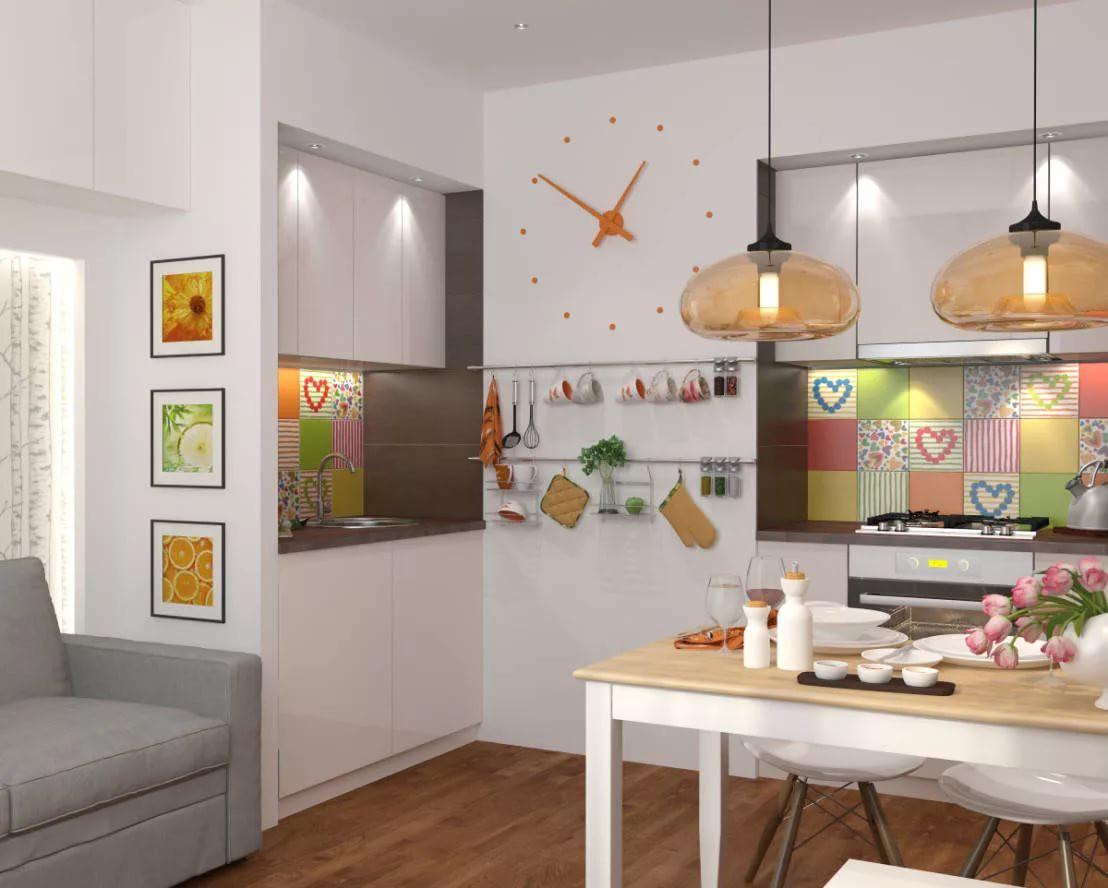 Дизайн современной кухни 9 кв. м.