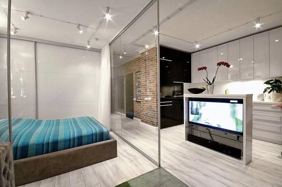 Дизайн современной однокомнатной квартиры