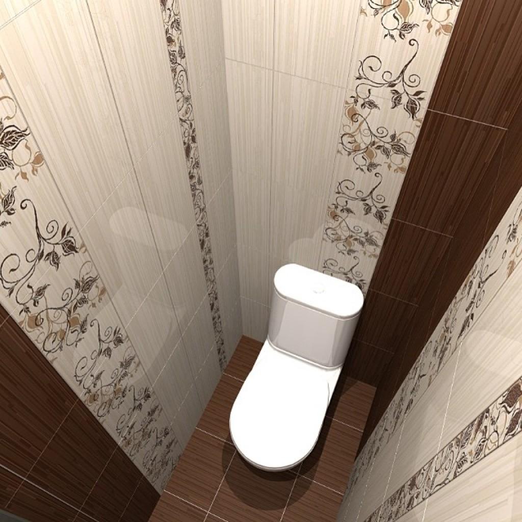 Дизайн туалета в светлых тонах